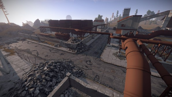 Förderanlage in Rust