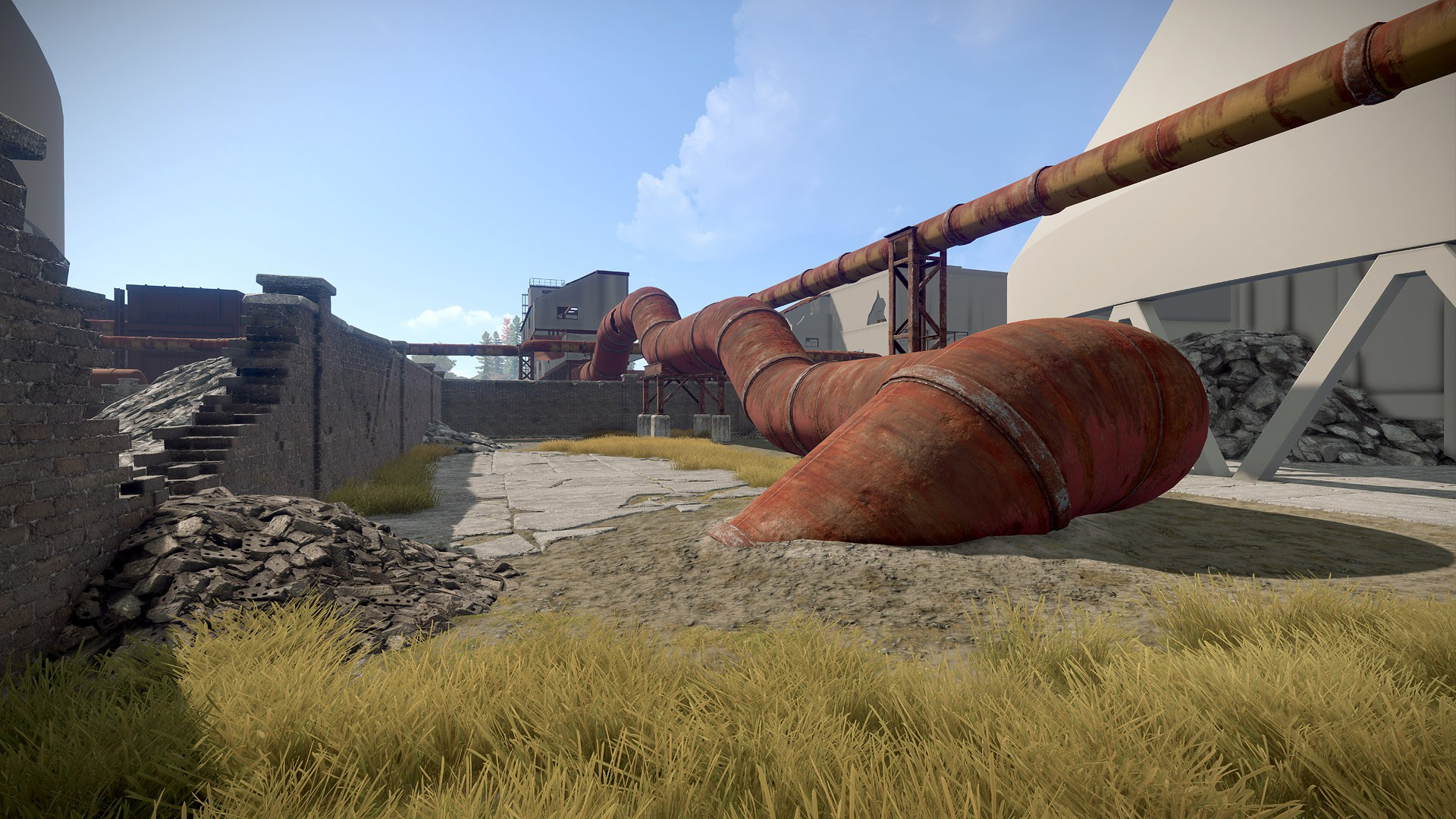 Rohranlage in Rust