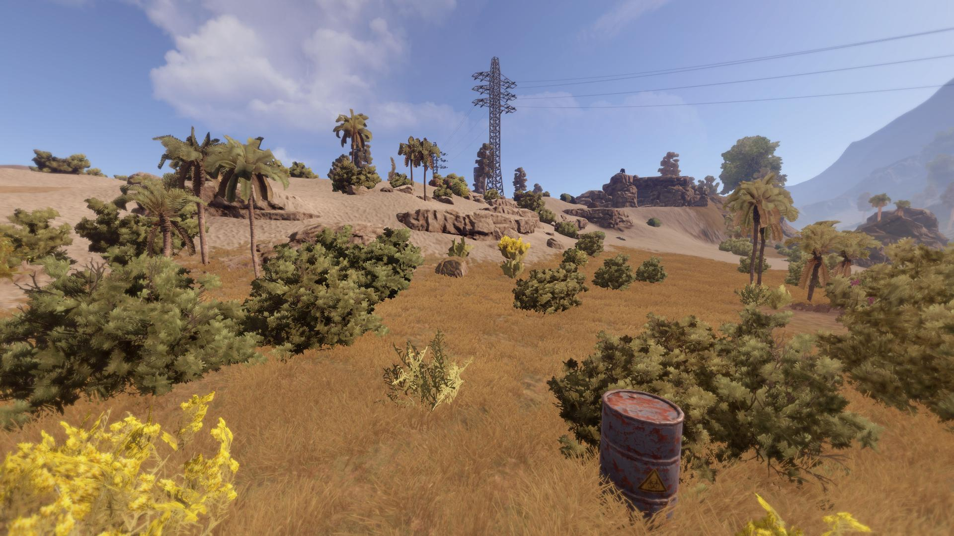 Atommüllfass in Rust