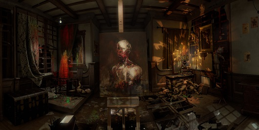 Schlosszimmer in Layers of fear