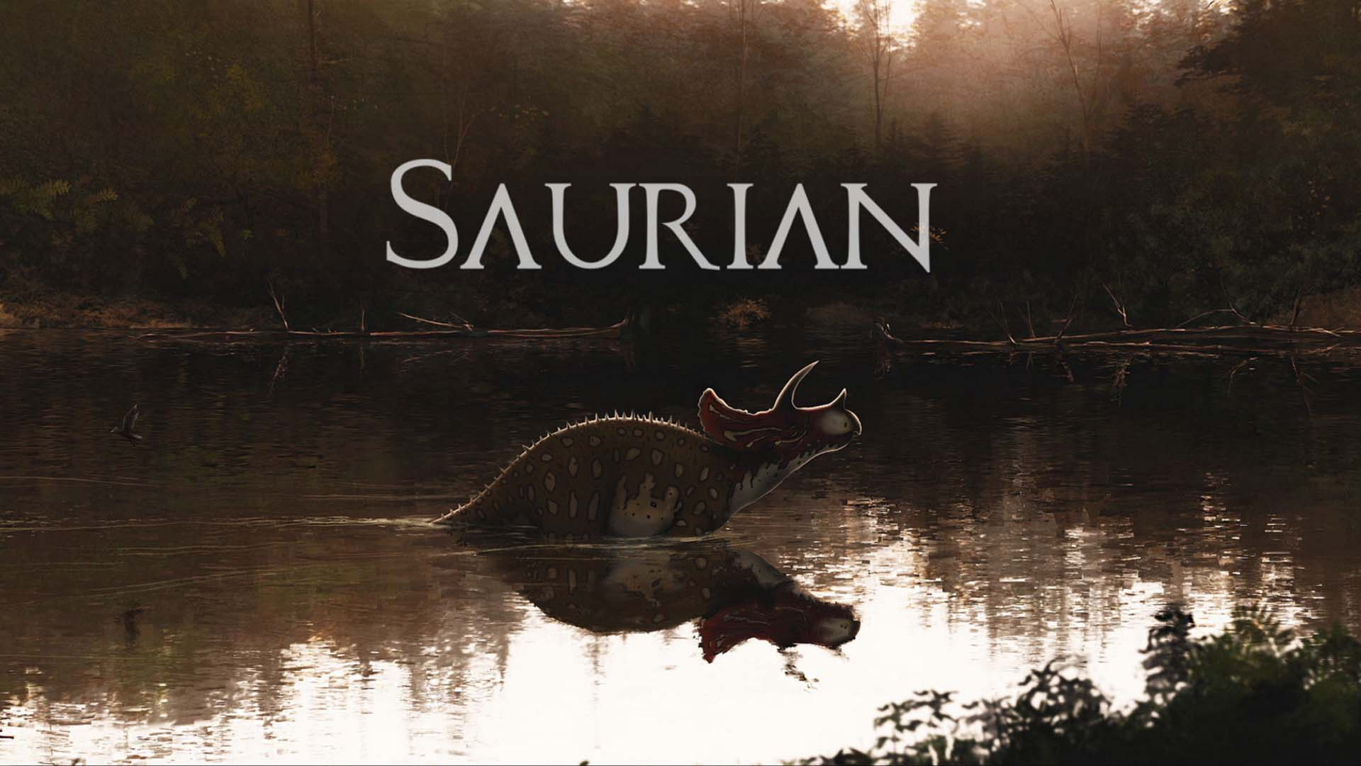 Saurian Wallpaper
