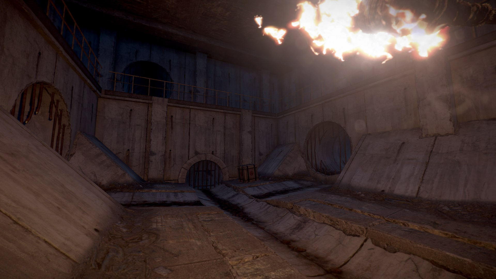 Kanal-Dungeons in Rust