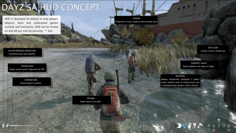 DayZ 0.60 Update Interface