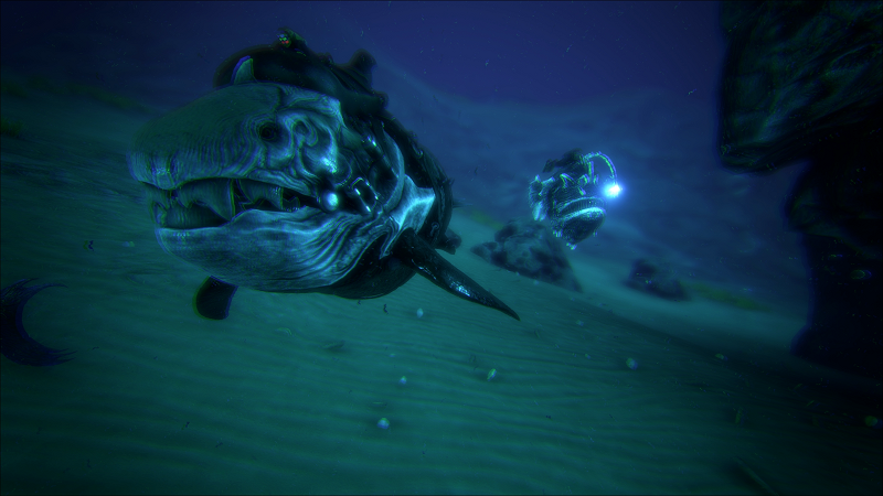 Official ARK Screenshot Dunkleosteus