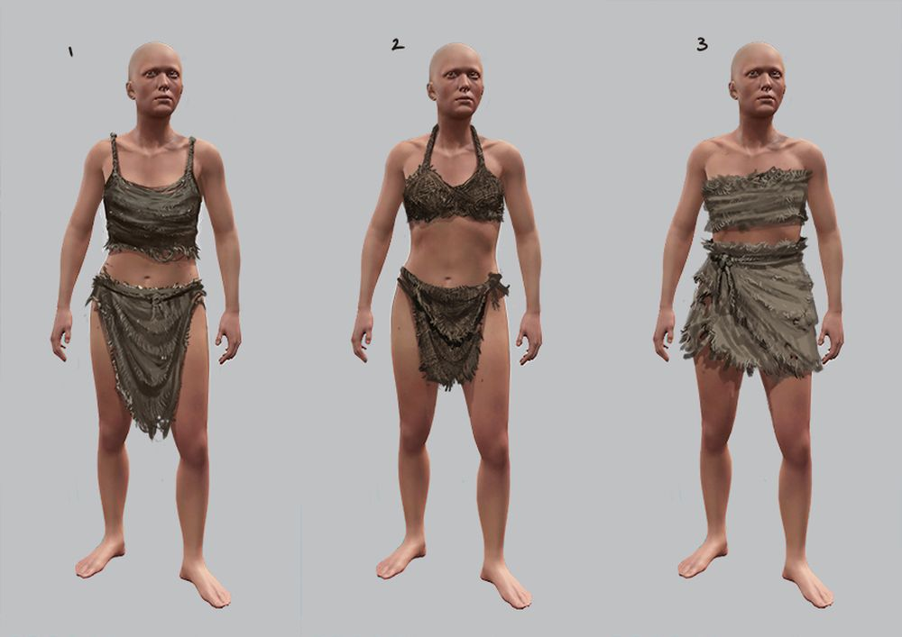 Rust female clothes