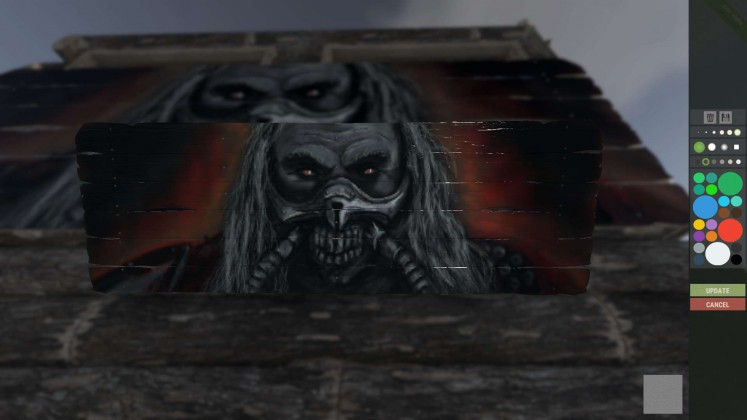 Rust painting Mad Max