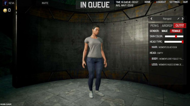 The Culling Female Character