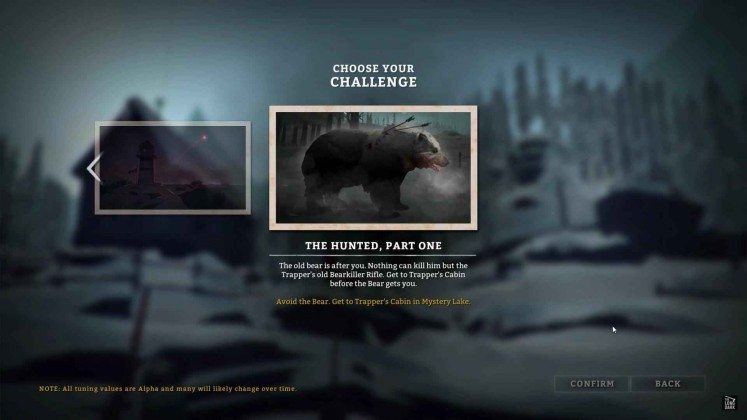The Long Dark Challenge Mode