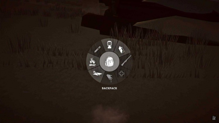 The Long Dark radial Menu