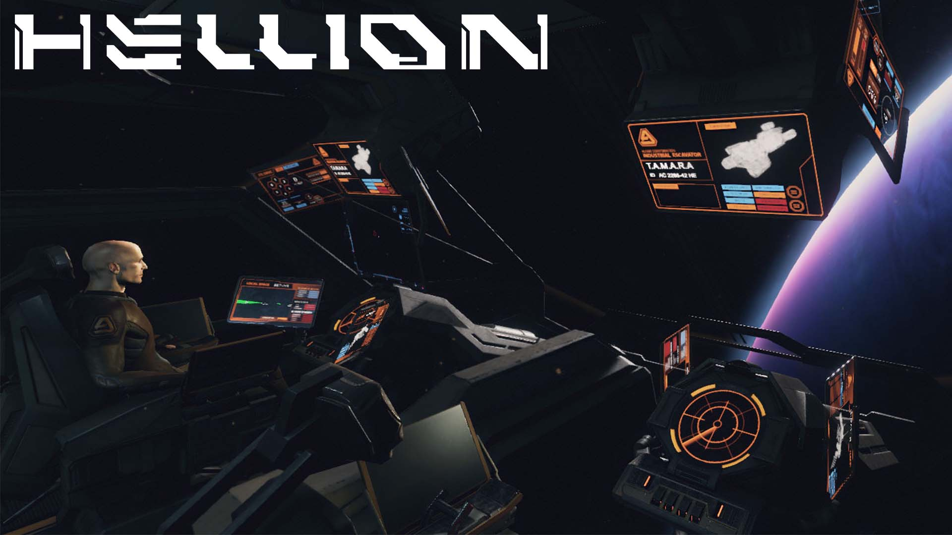 Hellion Space Survival Game Raumschiff