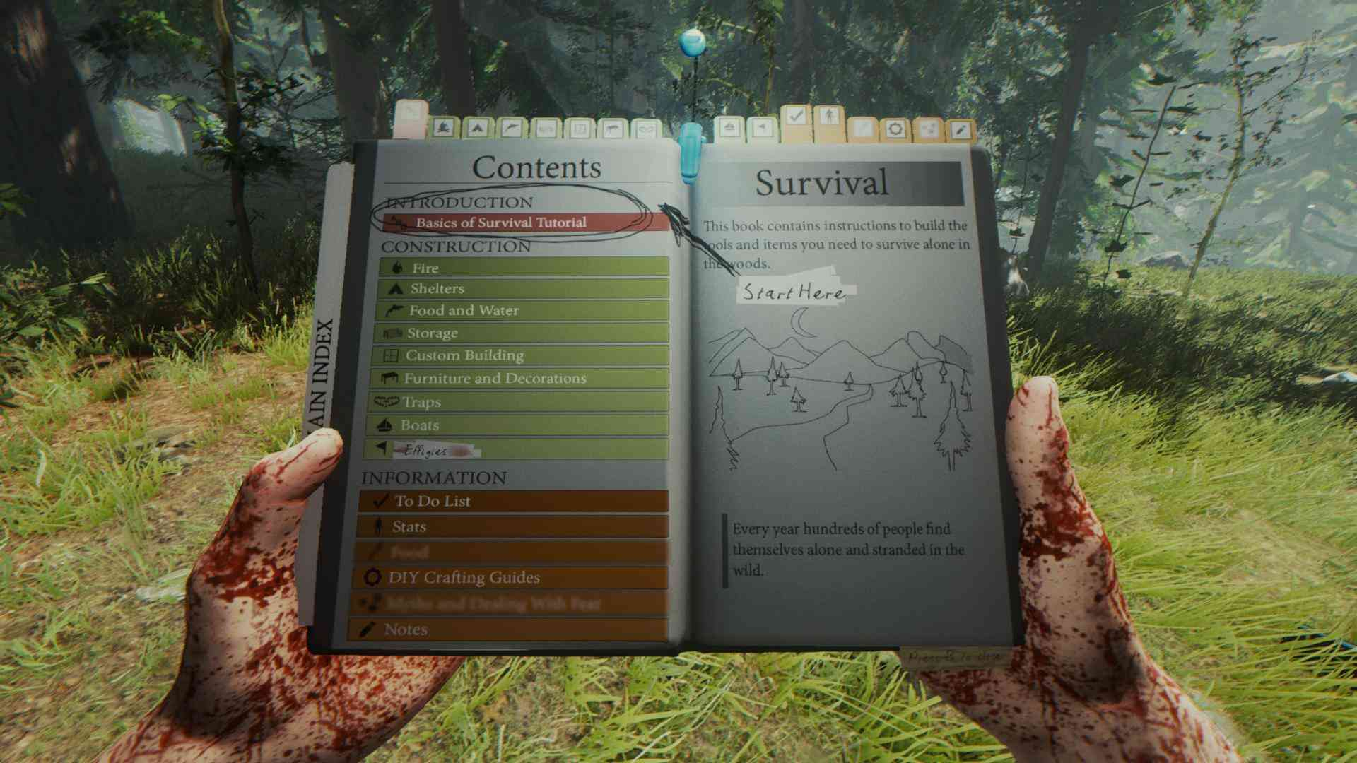 The Forest Anfänger-Guide Survival-Handbuch