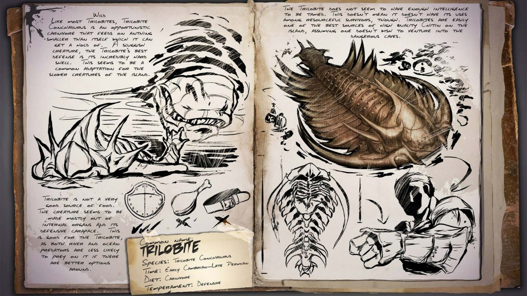 Ark Survival Evolved Dino Dossier Trilobite Survivethis