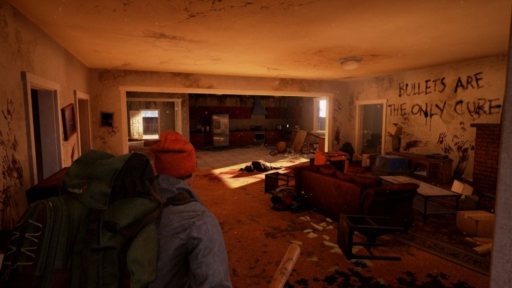 State of Decay 2 Interior House