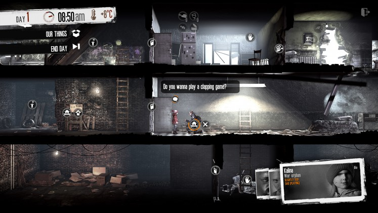 This War of Mine - The little ones - Wanna play a game