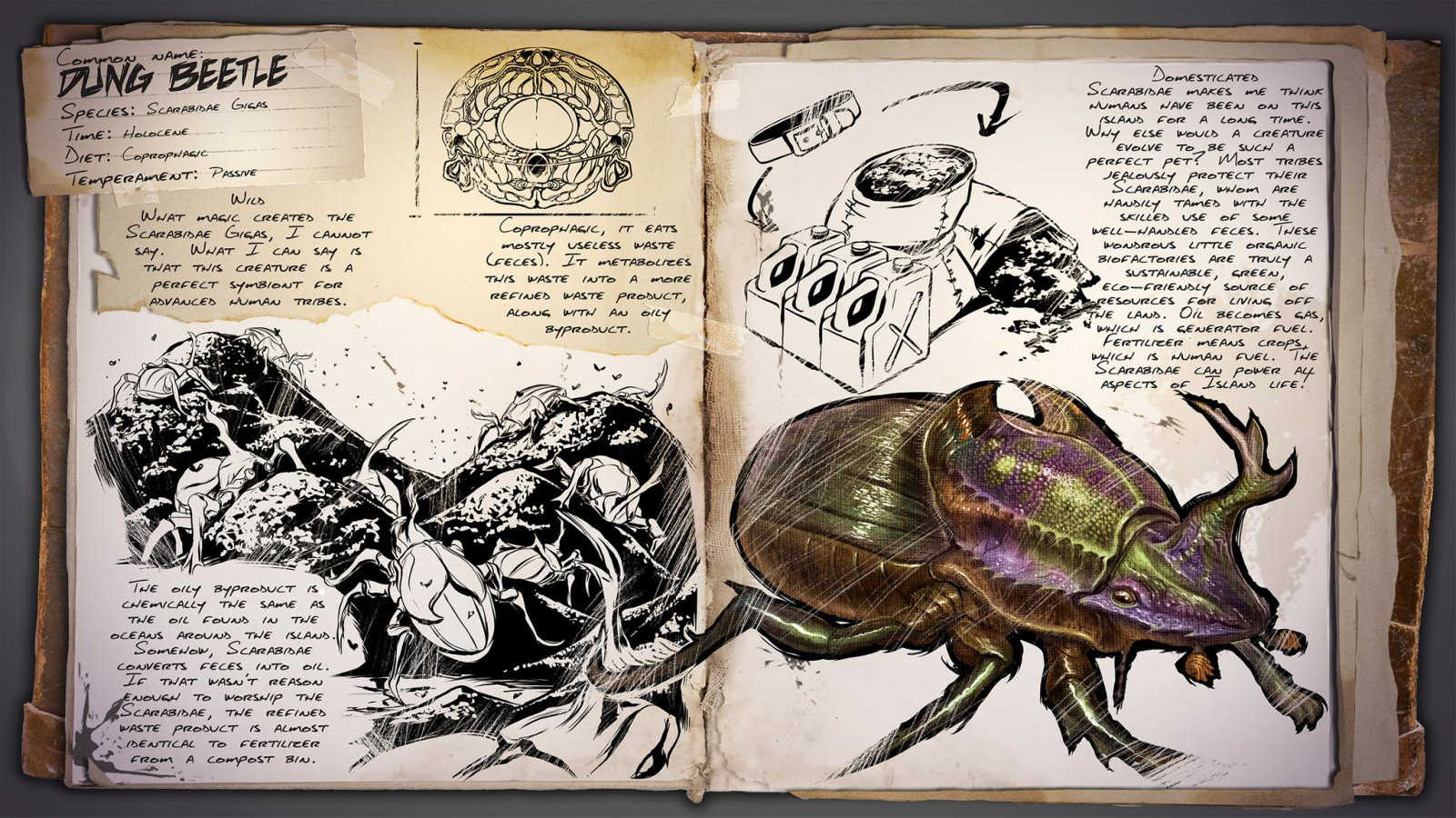 Dino Dossier Dung Beetle