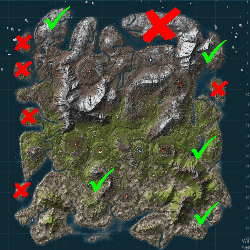 Ark Griffin Spawn Map Island