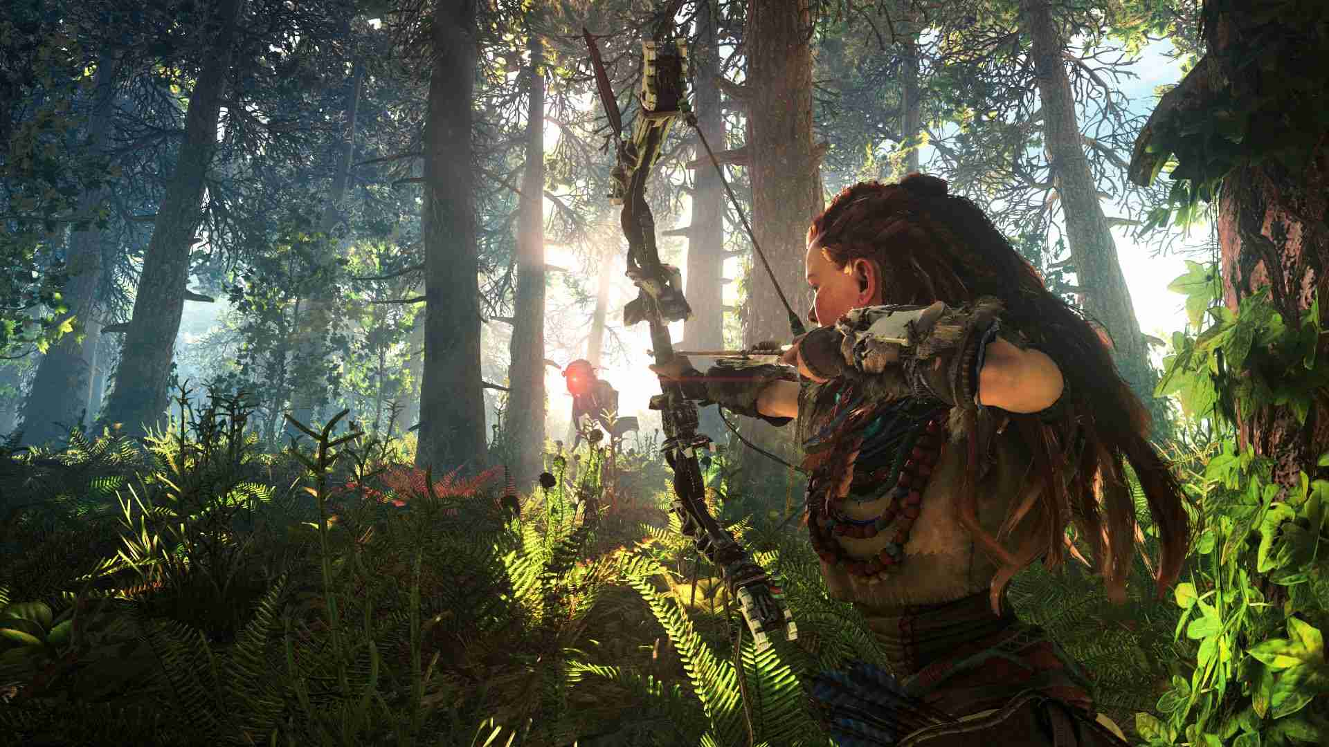 horizon zero dawn forest