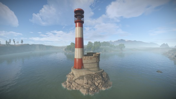 rust lighthouse