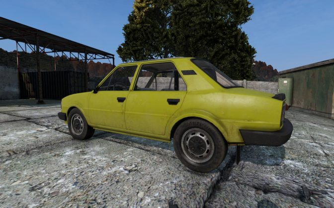 Sarka 120 Sedan in DayZ