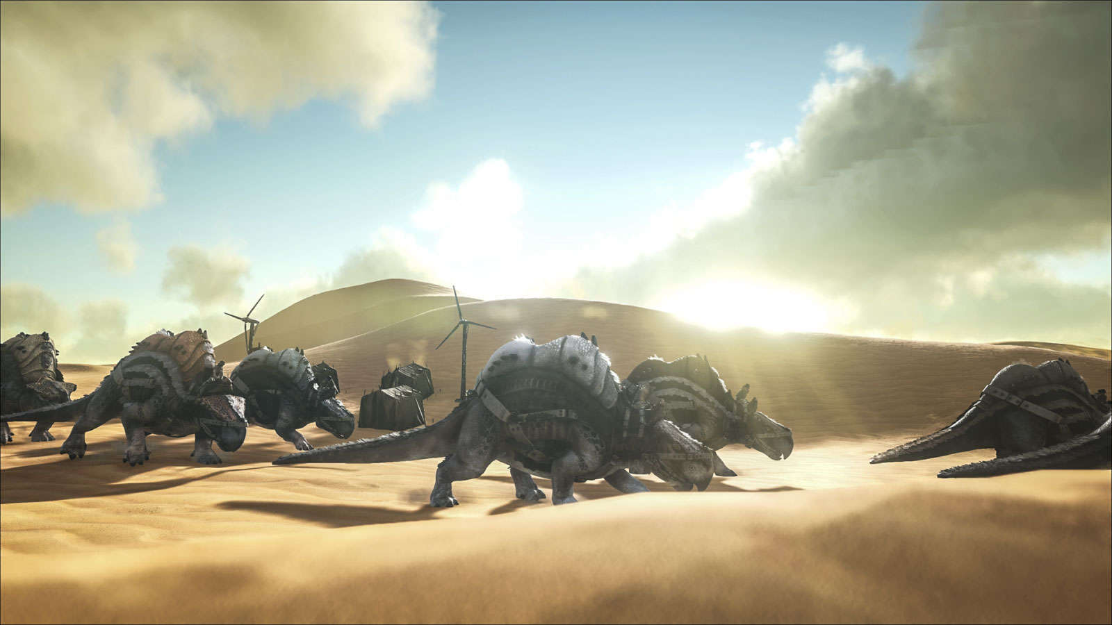 ARK Scorched Earth Morellatops