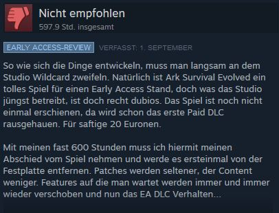 ARK Review zum DLC