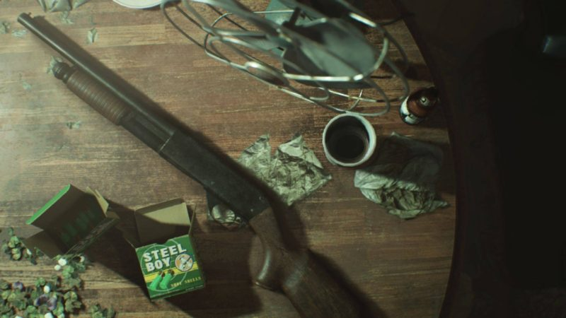 resident evil 7 weapons