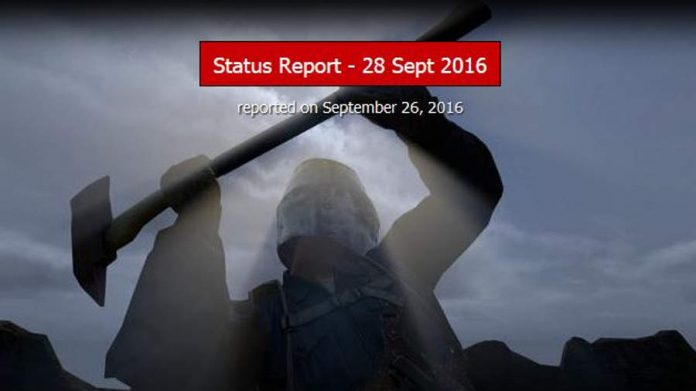 DayZ Statusreport vom 28. September