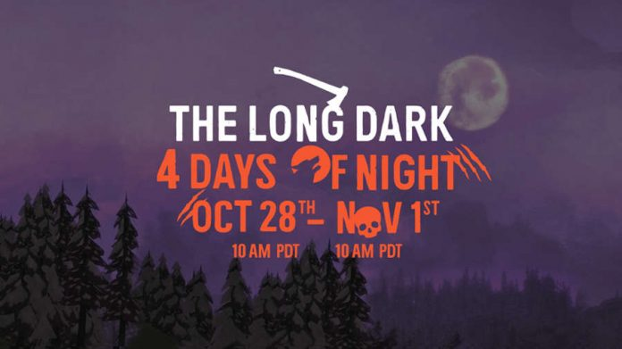 The Long Dark 4 Days of Night Halloween Special Event