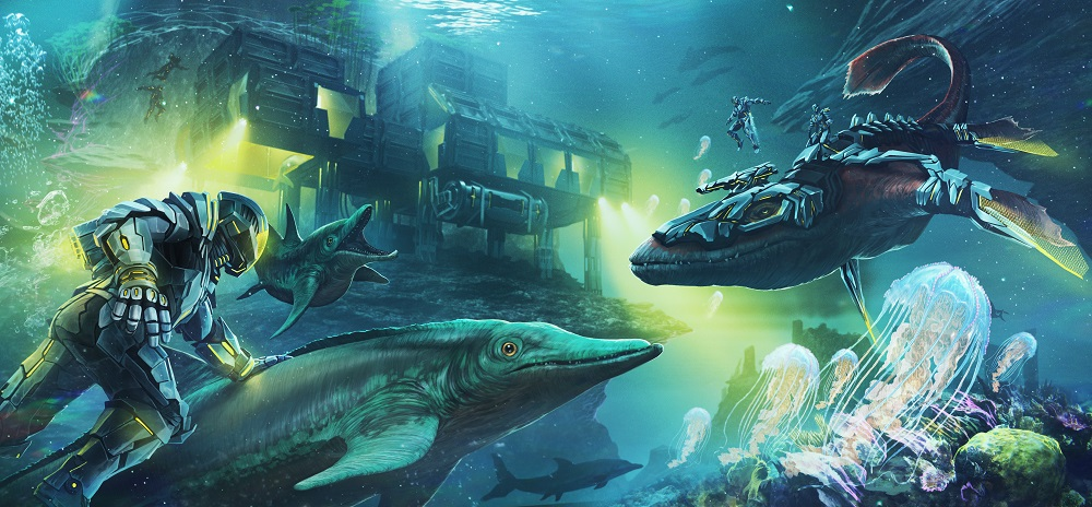 ARK: Survival Evolved Unterwasserbasis