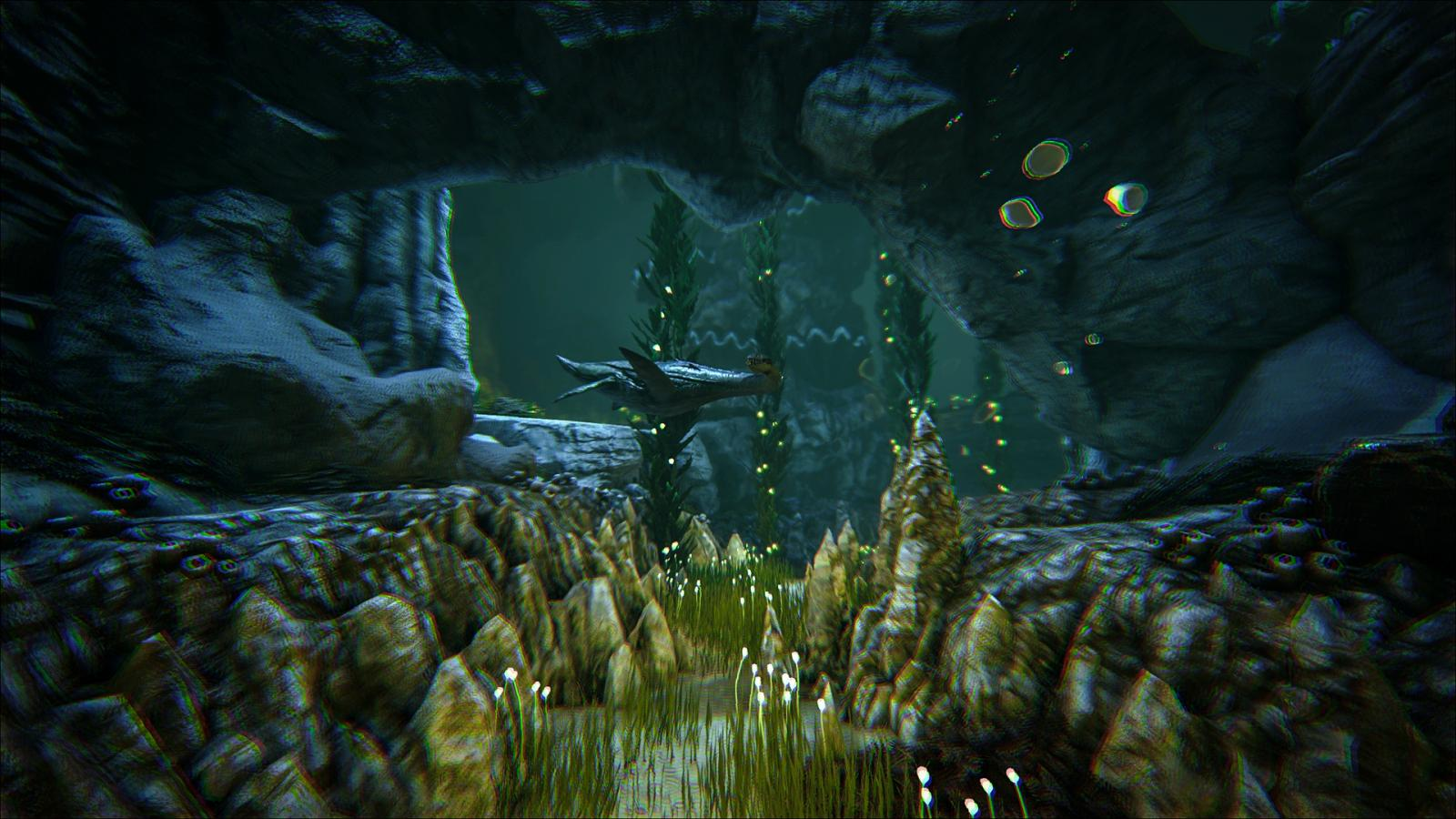 ark survival evolved how to see underwater
