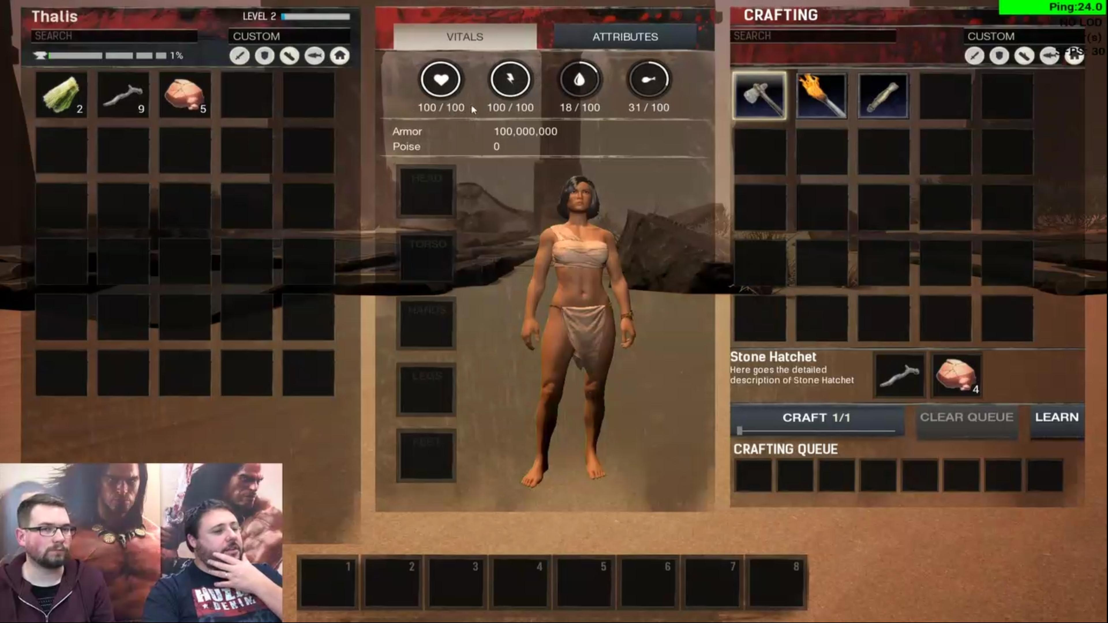 Conan Exiles first Livestream