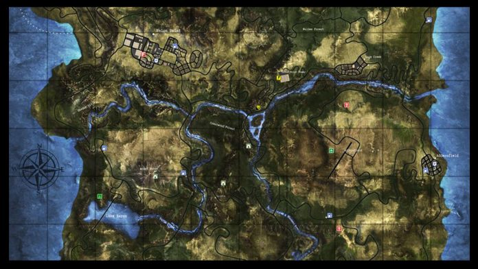 Survive the Nights Map