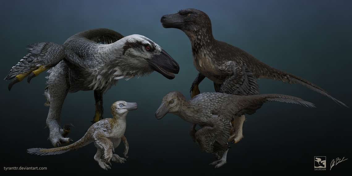 Saurian Urvogel Games Dakotaraptor Ontogeny