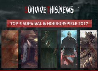 Survivethis Top-5 Survival und Horror Games