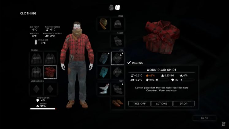 The Long Dark Resolute Outfitter Clothing