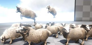 Ovis Aries Schaf in ARK
