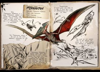 ARK: Survival Evolved Dino Dossier Pteranodon