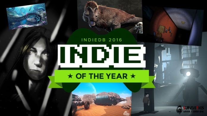 IndieDB - Indie of the Year 2016 Rimworld Survival-Titel