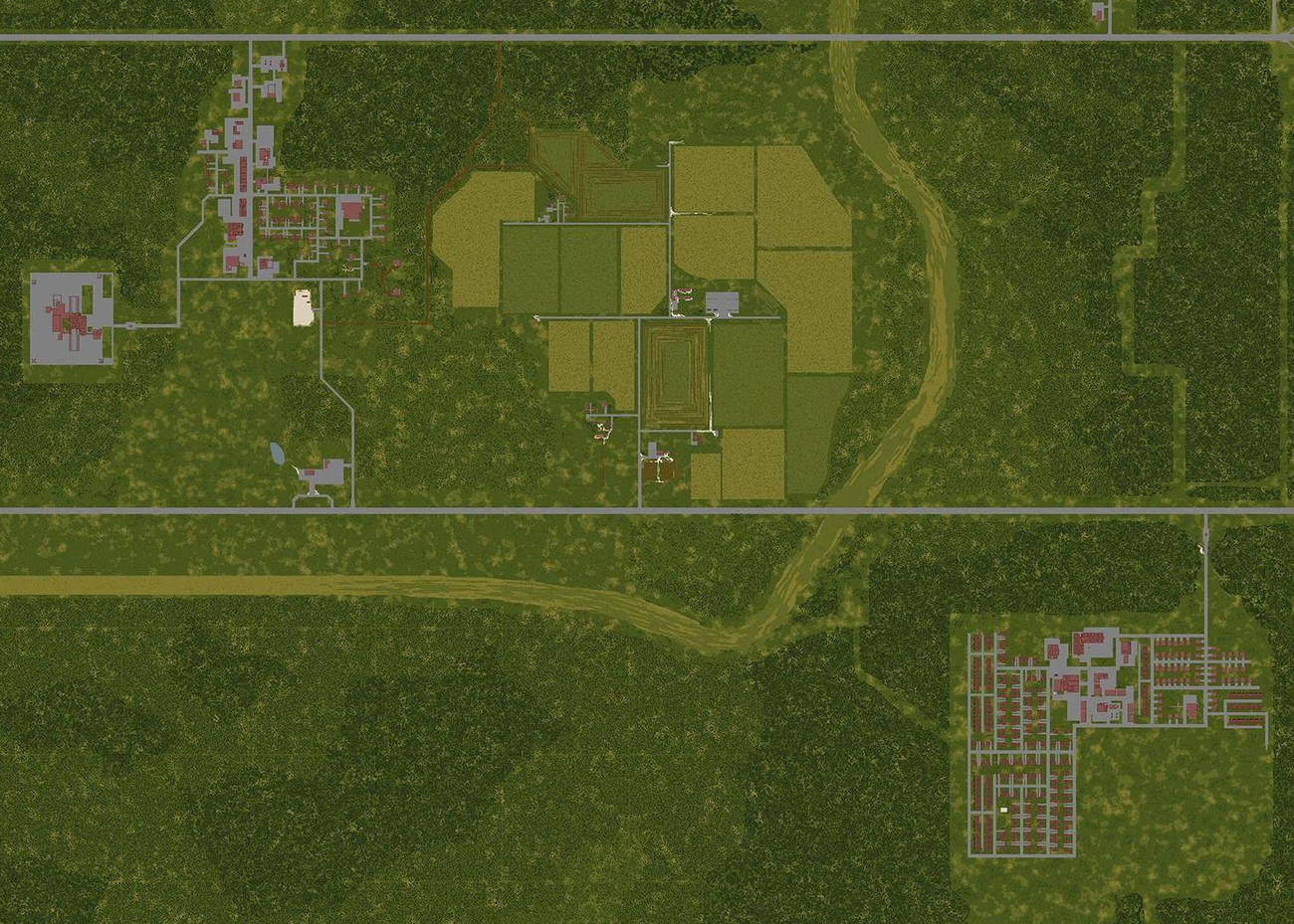 Project Zomboid The Indie Stone Map Karte