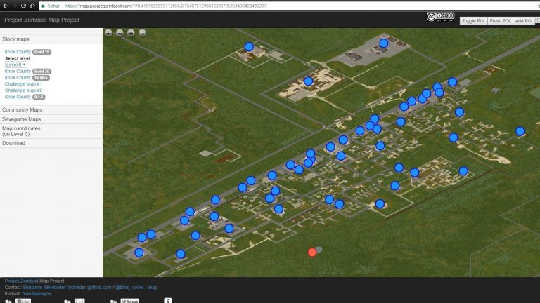 Project Zomboid – Orientierung in der Endzeit: Blindcoder´s Map-Projekt