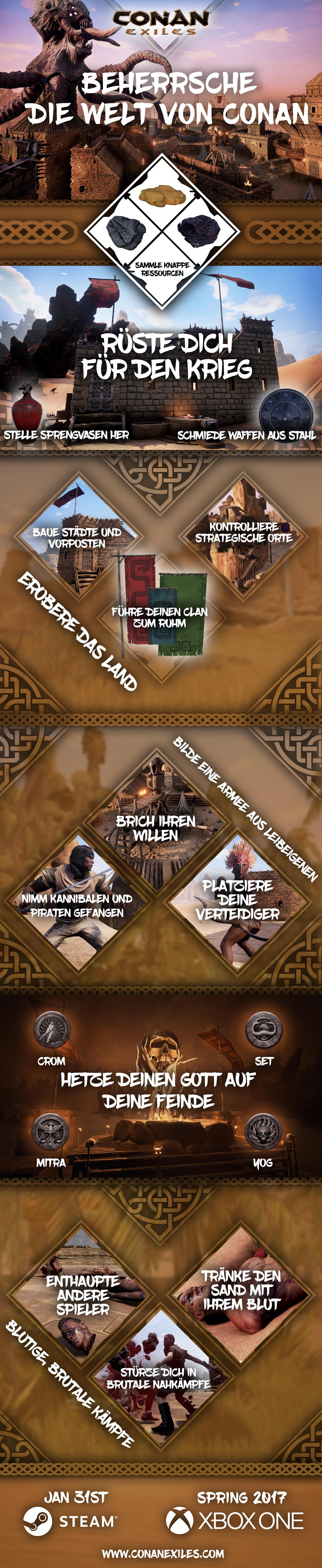 Conan Exiles Dominate
