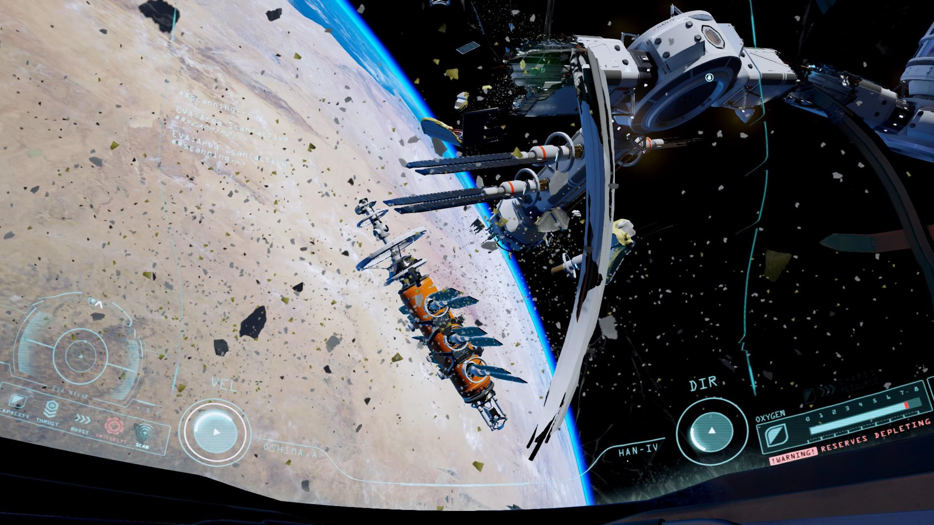 Adr1ft Trümmer der Station