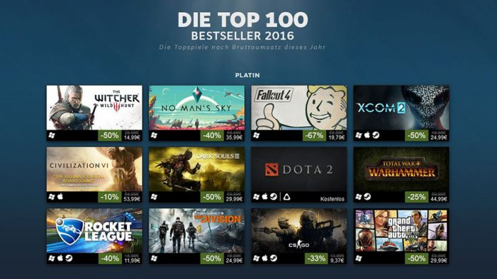 Steam Top 100 Platin