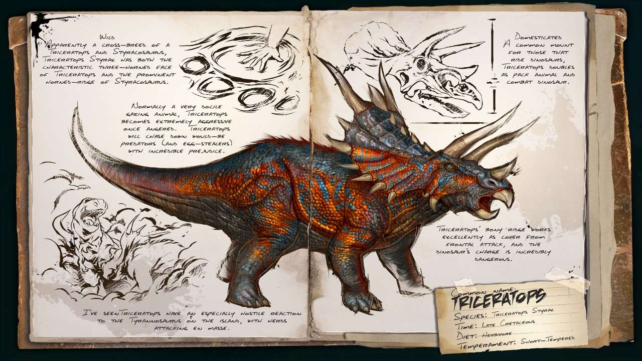 Ark Survival Evolved Guide Complet Tous Les Dinosaures