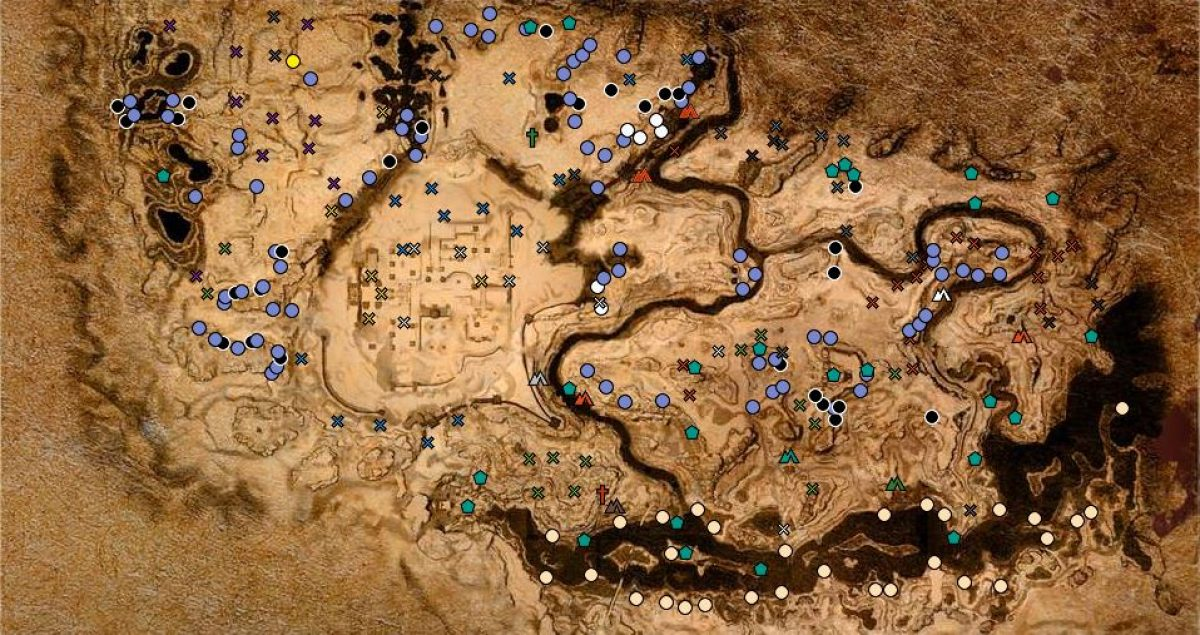 conan exiles carte interactive Conan Exiles – Interactive Map on iZurvive