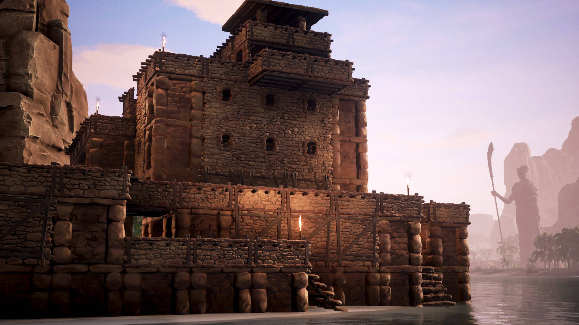 Conan Exiles Base Building Interior Design \u0026 Durungu