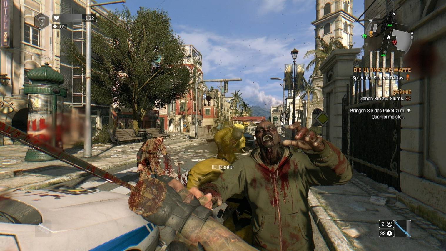 Dying light review combat techland
