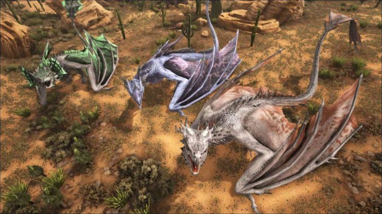 Wyvern variations.
