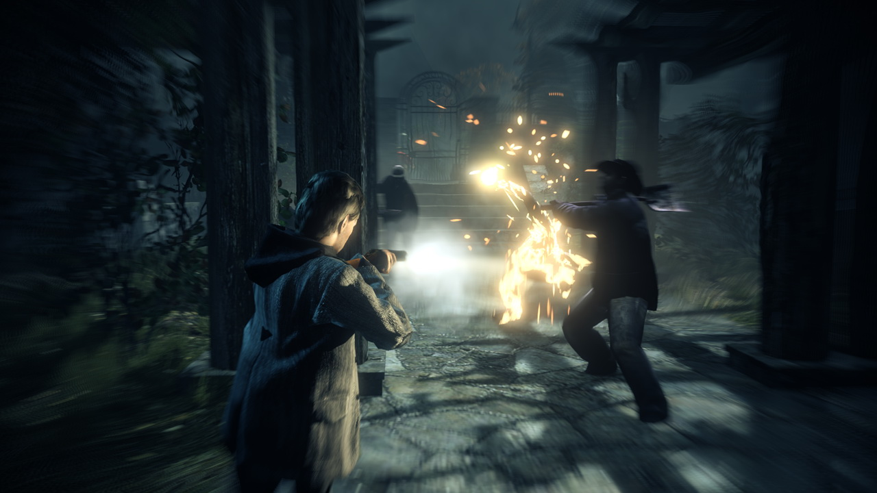 Alan Wake Fighting