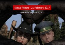 DayZ Statusreport February 21st